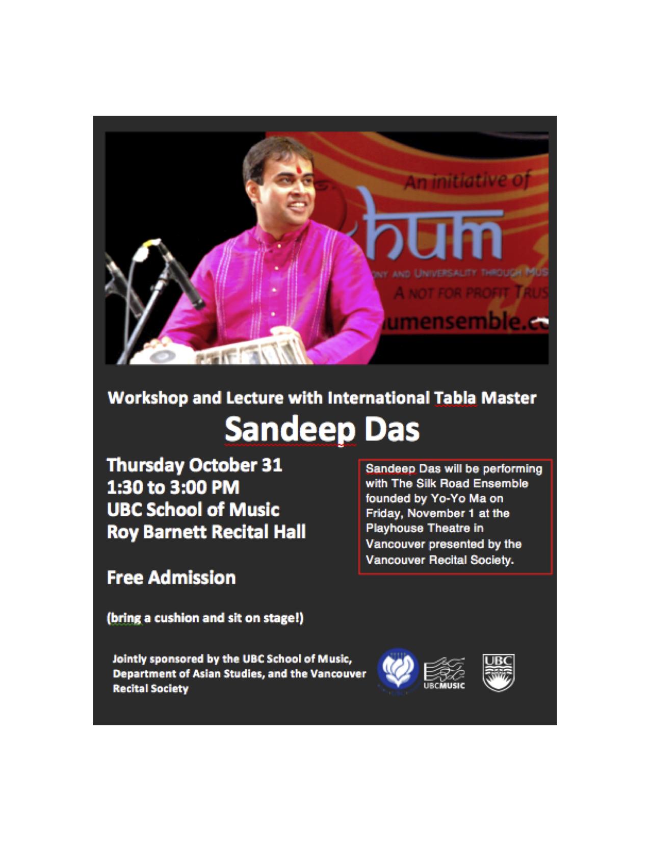 Sandeep Das Flyer