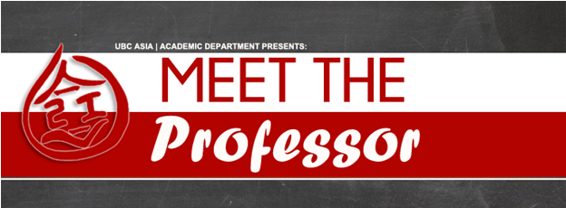 Meet the Prof Banner