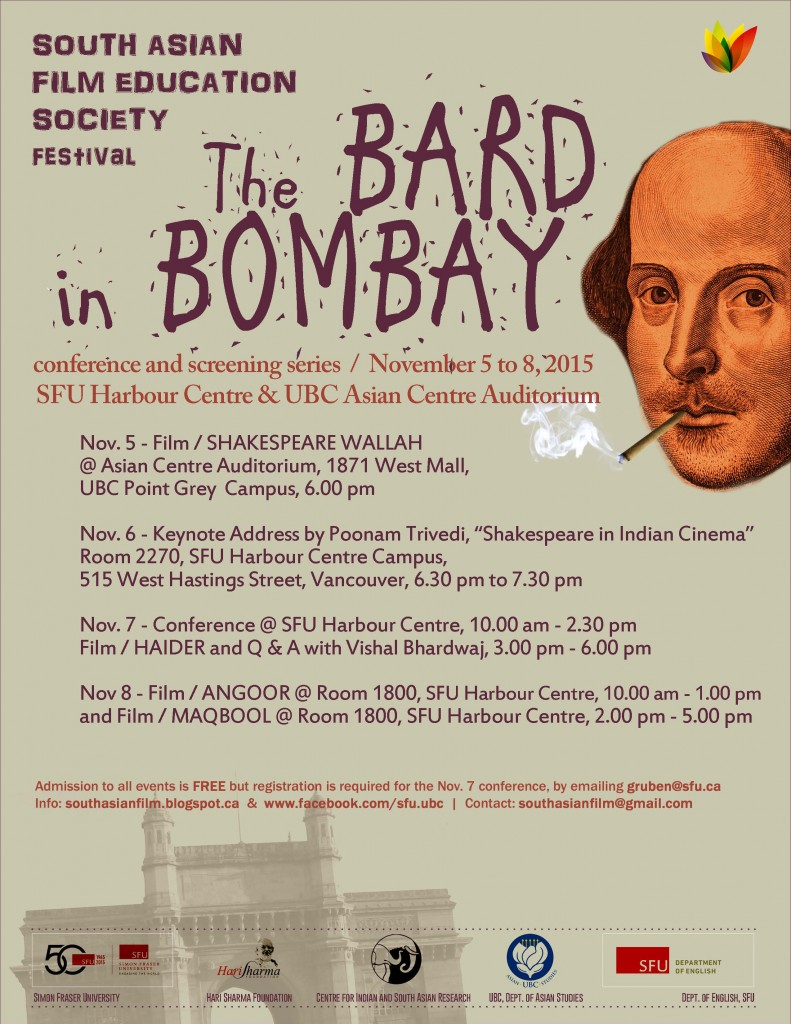 The Bard in Bombay