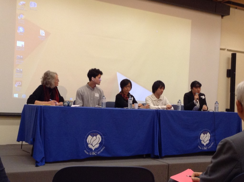 Voice of Kakehashi_panel discussion_Oct.25 .2015 007