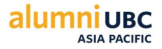 Alumni UBC Asia Pacific
