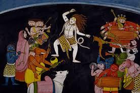 Shiva Evening Dance. Sanskrit Performance