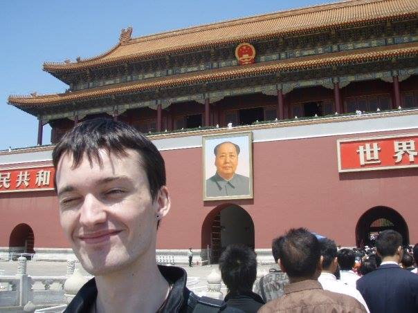 Nick Stember in China, 2007