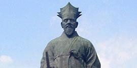 Statue of Yi Hwang